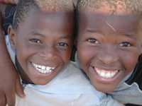 South African H.O.P.E. - Two Boys Smiling